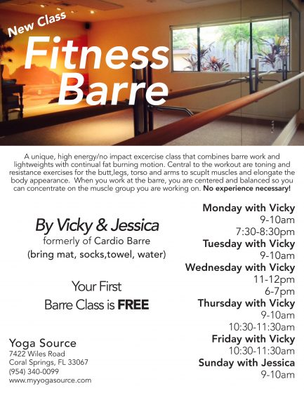 Fitness Barre banner
